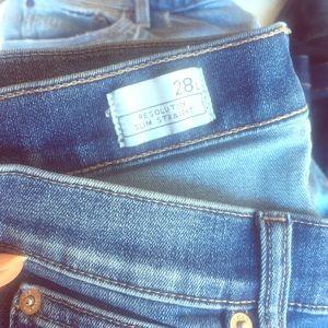 Gap jeans Resolution Slim Straight 28L